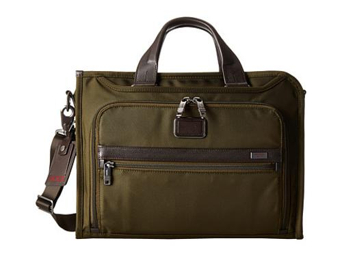 Alpha 2 Briefcase - Slim Deluxe Portfolio by Tumi in Neighbors