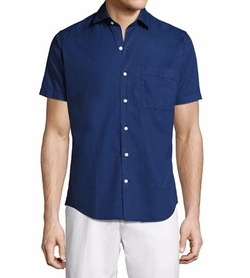 Seaside Washed Short-Sleeve Shirt by Peter Millar in Logan Lucky