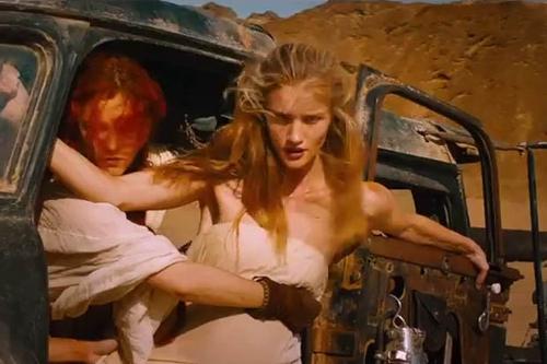 Custom Made White Strapless Dress (Splendid) by Jenny Beavan (Costume Designer) in Mad Max: Fury Road