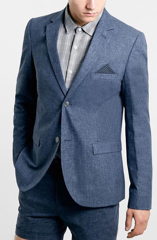 Indigo Sportcoat by Topman in The November Man