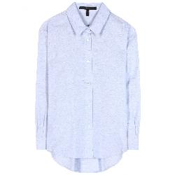 BASIC COTTON SHIRT by Victoria Beckham Denim in Blended