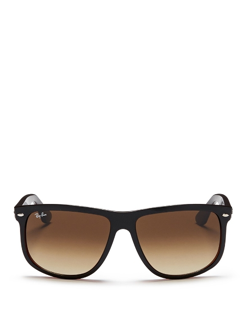 Large Square Frame Acetate Sunglasses by Ray-Ban in Entourage