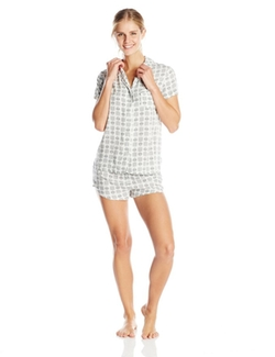 Woven Classic Pajama Set by Splendid in Elementary