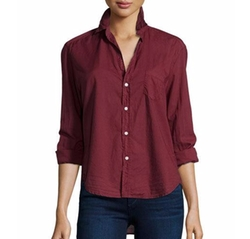 Eileen Button-Front Shirt by Frank & Eileen in Daddy's Home 2