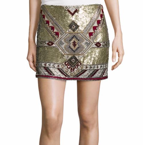 Elana Embellished Mini Skirt by Alice + Olivia in The Bachelorette - Season 12 Looks