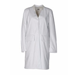 Wool Overcoat by MM6 Maison Margiela in Quantico