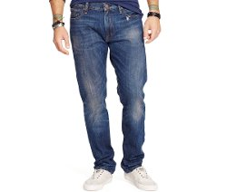 Straight-Fit Davis Jeans by Ralph Lauren in Begin Again