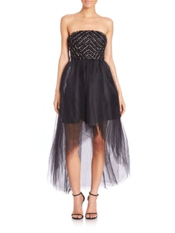 Strapless Tulle Midtown Dress by Parker Black in Supernatural