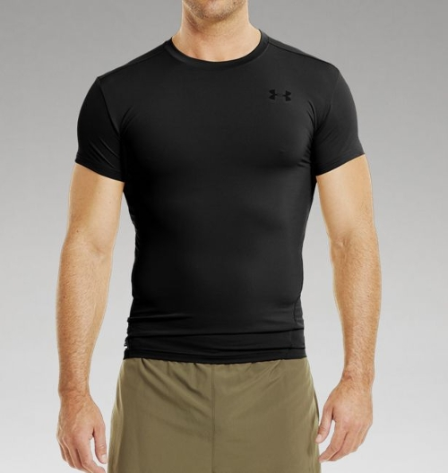 Men's Tactical HeatGear Compression Short Sleeve T-Shirt by Under Armour in Fast Five