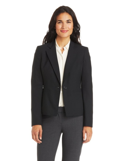 Women's One-Button Notched Suit Jacket by Anne Klein in The Flash