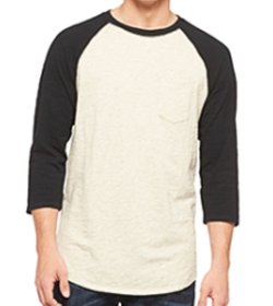 Pocket Raglan Shirt by Mossimo Supply Co. in Teen Wolf