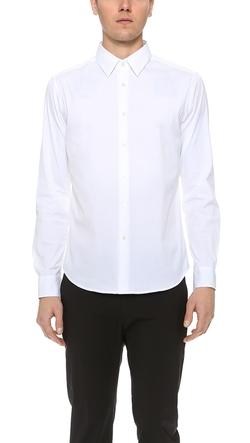 Sylvain Solid Dress Shirt by Theory in 99 Homes