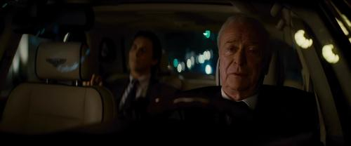 Custom Made White Dress Shirt (Alfred) by Giorgio Armani in The Dark Knight Rises