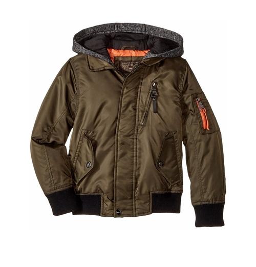 Hooded Flight Jacket by Urban Republic Kids in Jurassic World