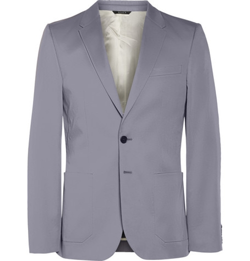 Grey Cotton Blazer by PS By Paul Smith in Mission: Impossible - Rogue Nation