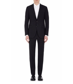 Attitude Wool Two-Button Suit by Lanvin in House of Cards