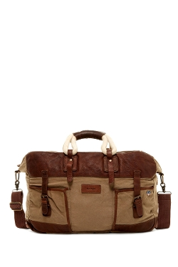 Bullit Canvas Holdall Bag by Barbour in Entourage