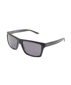 Rectangle Polarized Sunglasses by Gucci in The Women