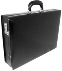 Italian Leather Machiavelli Attache Case by Pratesi Leather in Suits