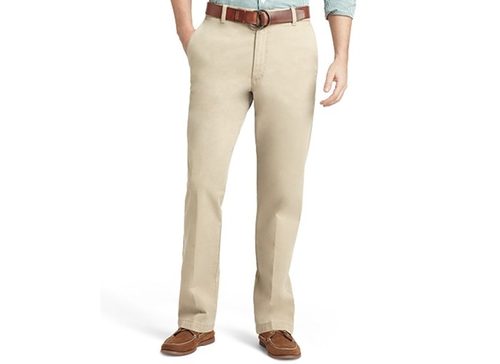 Saltwater Straight-Fit Flat Front Chino Pants by Izod  in Modern Family - Season 7 Episode 11