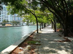 Miami, Florida by Miami Riverwalk in Vice