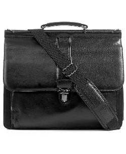 Florencia Leather Dowel Rod Laptop Briefcase by Kenneth Cole Reaction in Wish I Was Here