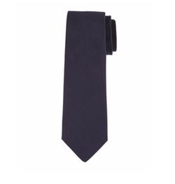 Grosgrain Solid Tie by Lanvin  in Guilt