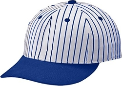 Pinstripe Baseball Cap by Teamwork in Twilight