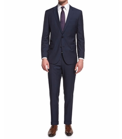 Huge Genius Slim-Fit Basic Suit by Boss Hugo Boss in The Good Place
