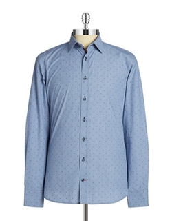 Dotted Sportshirt by Pure in Master of None