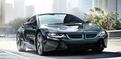 i8 Sports Car by BMW in Ballers