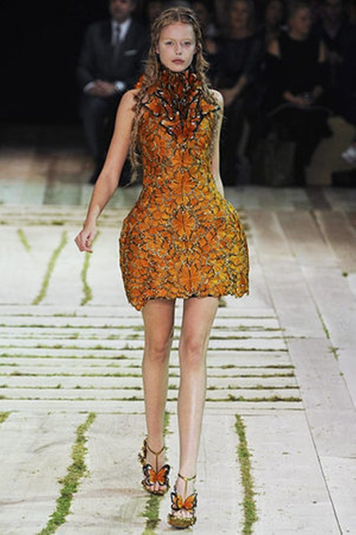 Spring 2011 Structured Dress by Alexander McQueen in The Hunger Games: Catching Fire