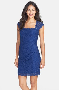 Lace Sheath Dress by Adrianna Papell in Avengers: Age of Ultron