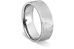 Men's Forged Wedding Ring by Ritani in Inception
