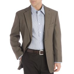 Tailored Sport Coat - Micro Check - Classic Fit by Haggar Clothing in Vice