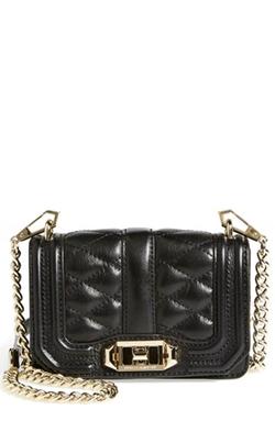 Mini Love Crossbody Bag by Rebecca Minkoff in Black-ish