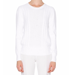 Long-Sleeve Cable-Knit Sweater by Callens in Fifty Shades Darker