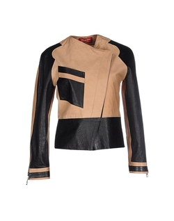 Two Tone Biker Jacket by Virginia Bizzi Collection Privee in Keeping Up With The Kardashians