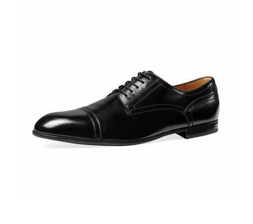 Ravello Leather Oxford Shoes by Gucci in Justice League