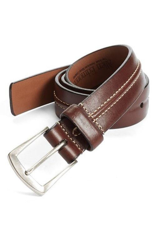 Dry Fork Belt by Allen Edmonds in If I Stay