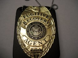 Gold Badge with Holder by The Cops Store in Vice