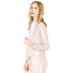 Women's Sequined Jacket by Sky in Scream Queens