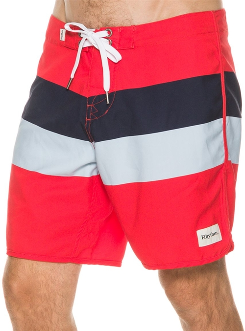Mens Trunk Boardshorts by Rhythm The Julian in Vacation