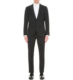 Specter Wool Tuxedo Suit by Tiger Of Sweden  in Special Correspondents