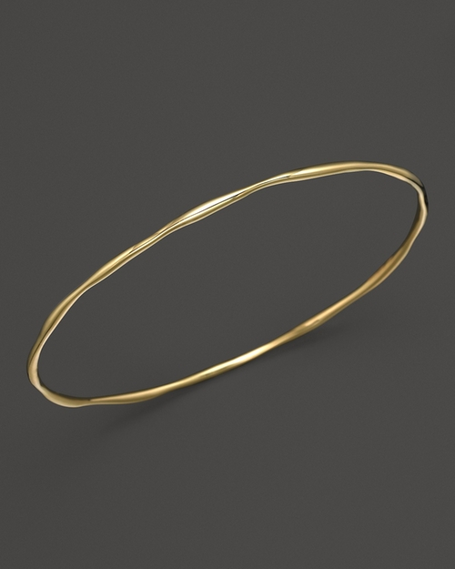 Gold Squiggle Bangle Bracelet by Ippolita in Suits - Season 5 Episode 9