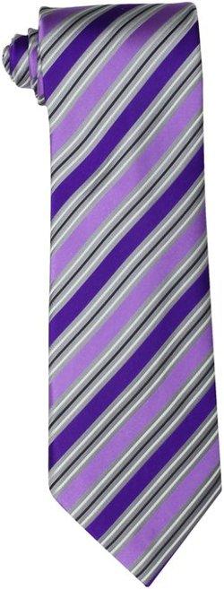 Men's Silverado Stripe Necktie by Geoffrey Beene in John Wick