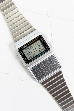 Classic Silver Databank Watch by Casio in The Flash