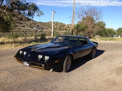 1980 Firebird Trans Am Coupe by Pontiac in Kill Bill: Vol. 2