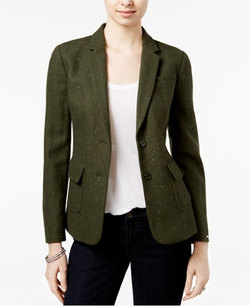Two-Button Herringbone Blazer by Tommy Hilfiger in How To Get Away With Murder