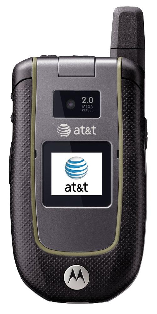 Tundra VA76r Rugged GSM Cell Phone AT&T by Motorola in No Strings Attached
